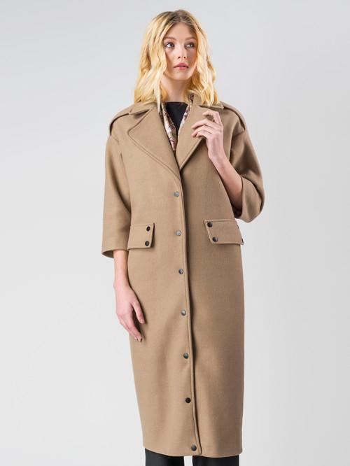 Текстильное пальто артикул 01005553/44 - фото 2