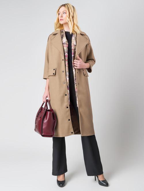 Текстильное пальто артикул 01005553/44