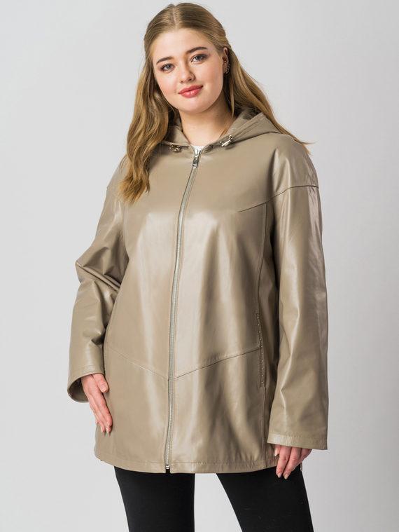 Кожаная куртка кожа баран, цвет бежевый, арт. 01005979  - цена 15990 руб.  - магазин TOTOGROUP