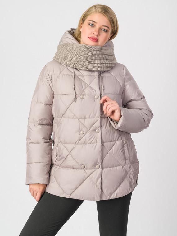Пуховик текстиль, цвет бежевый, арт. 01006290  - цена 5290 руб.  - магазин TOTOGROUP