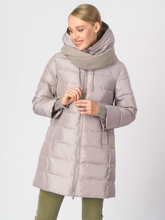 Пуховик текстиль, цвет бежевый, арт. 01006297  - цена 5290 руб.  - магазин TOTOGROUP
