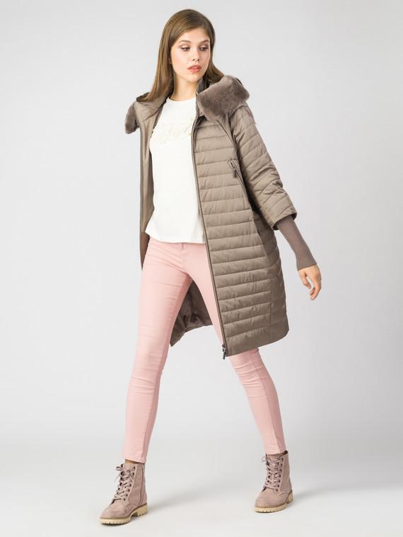 Пуховик текстиль, цвет светло-коричневый, арт. 01006349  - цена 25590 руб.  - магазин TOTOGROUP