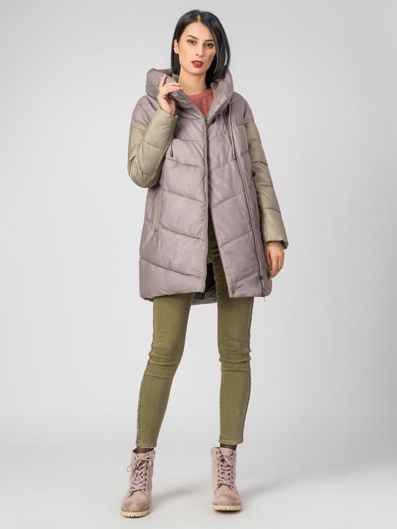 Пуховик текстиль, цвет бежевый, арт. 01006439  - цена 4990 руб.  - магазин TOTOGROUP