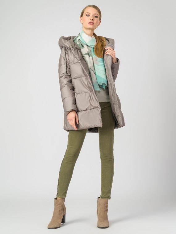 Пуховик текстиль, цвет бежевый, арт. 01006447  - цена 4990 руб.  - магазин TOTOGROUP