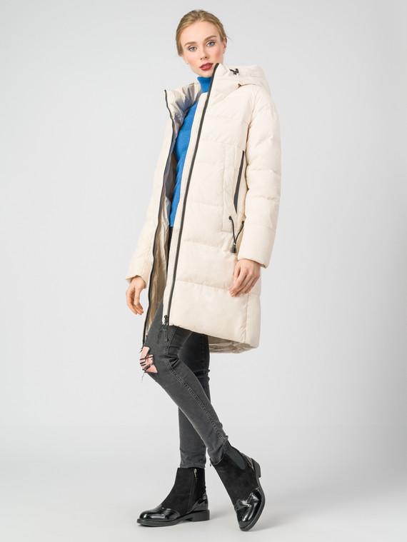 Пуховик текстиль, цвет светло-бежевый, арт. 01006482  - цена 5590 руб.  - магазин TOTOGROUP