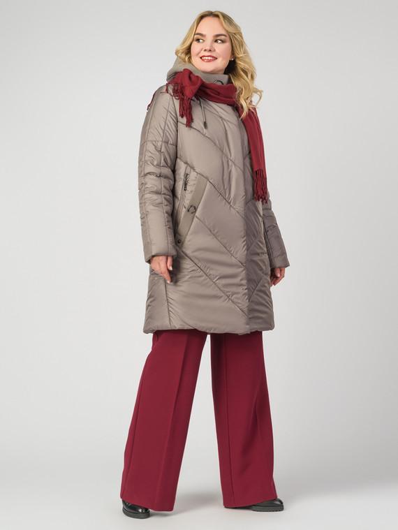 Пуховик текстиль, цвет бежевый, арт. 01006533  - цена 5590 руб.  - магазин TOTOGROUP
