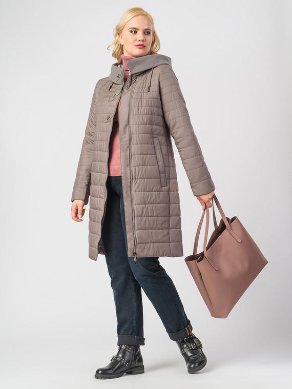 Пуховик текстиль, цвет бежевый, арт. 01006538  - цена 6990 руб.  - магазин TOTOGROUP