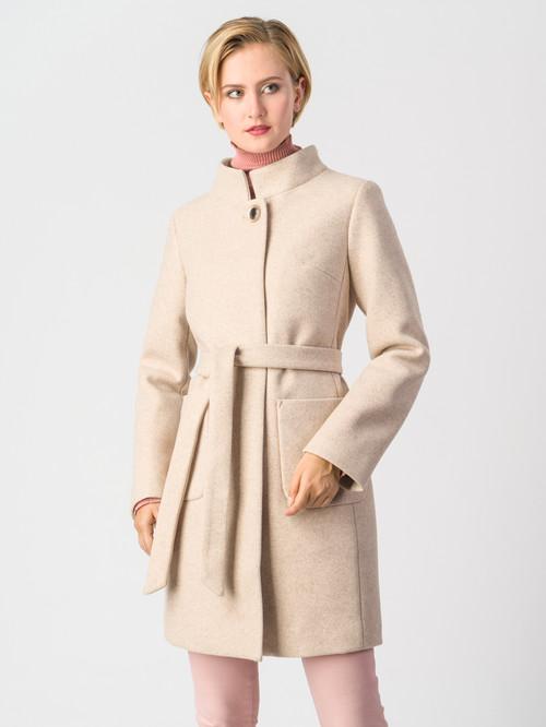 Текстильное пальто артикул 01006610/42 - фото 2