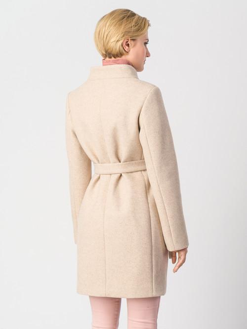 Текстильное пальто артикул 01006610/42 - фото 3