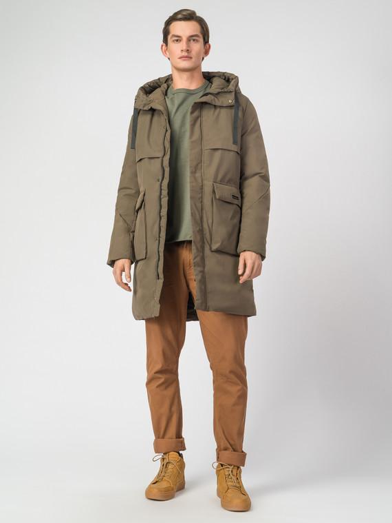 Пуховик текстиль, цвет светло-коричневый, арт. 01006681  - цена 4740 руб.  - магазин TOTOGROUP