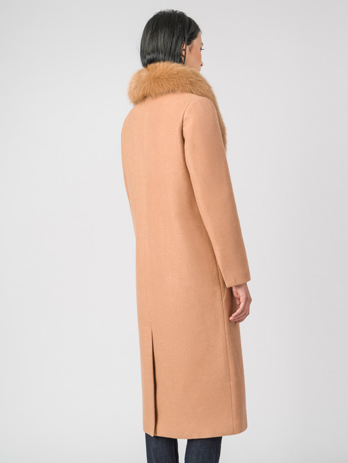 Текстильное пальто артикул 01006794/42 - фото 3