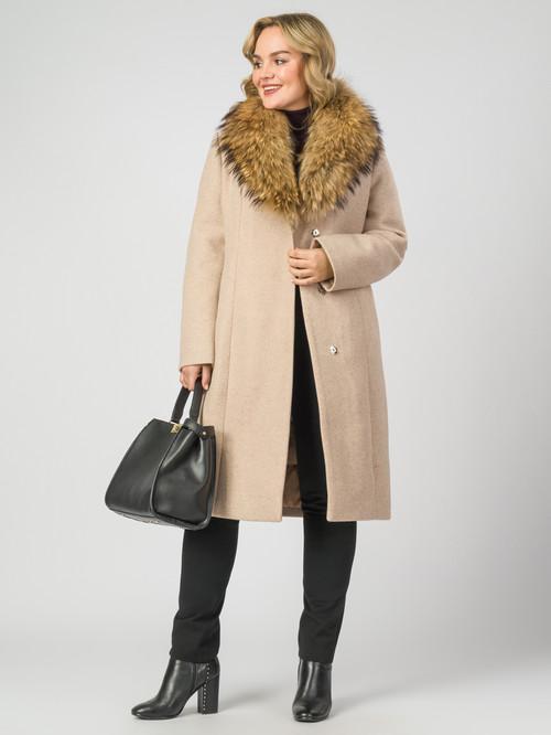 Текстильное пальто артикул 01007104/50 - фото 2