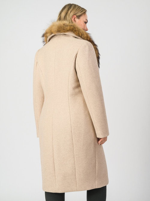 Текстильное пальто артикул 01007104/50 - фото 3
