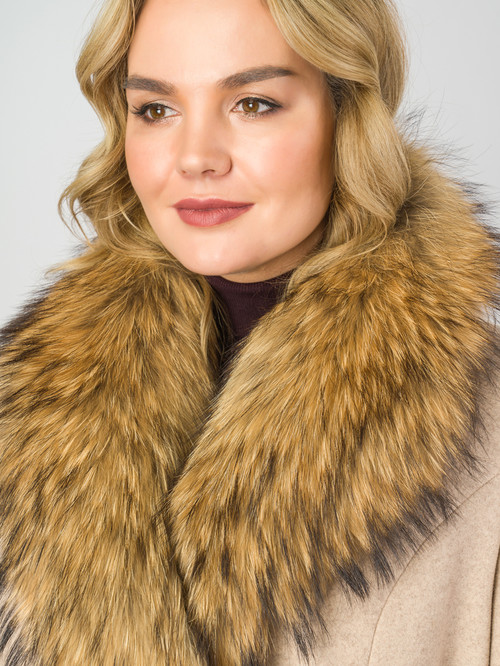Текстильное пальто артикул 01007104/50 - фото 4