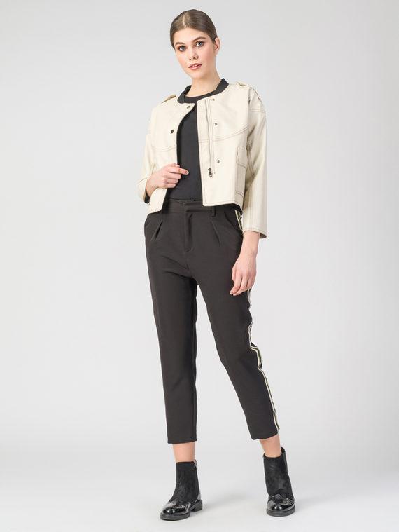 Кожаная куртка эко-кожа 100% П/А, цвет светло-бежевый, арт. 01107836  - цена 3390 руб.  - магазин TOTOGROUP