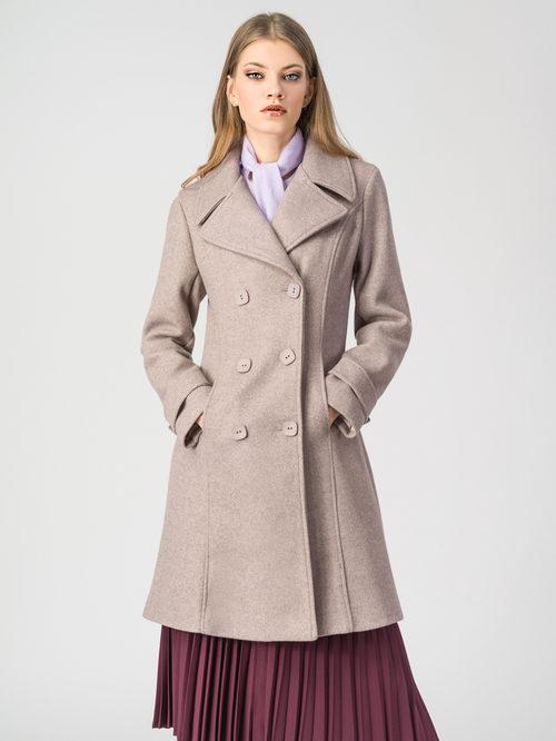 Текстильное пальто артикул 01107919/44 - фото 2
