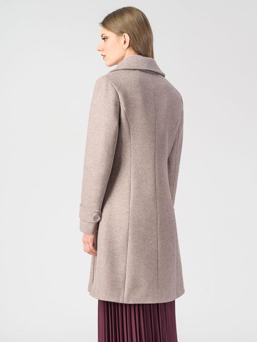 Текстильное пальто артикул 01107919/44 - фото 3