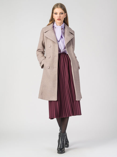 Текстильное пальто артикул 01107919/44