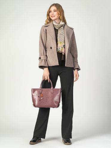 Текстильная куртка 30%шерсть, 70% п.э, цвет бежевый, арт. 01107921  - цена 4260 руб.  - магазин TOTOGROUP