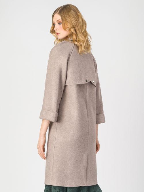 Текстильное пальто артикул 01107923/44 - фото 3