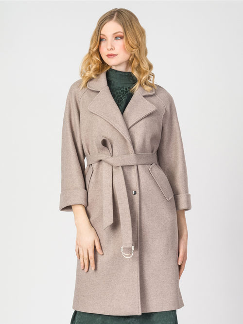 Текстильное пальто артикул 01107923/44