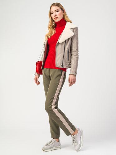 Кожаная куртка эко-кожа 100% П/А, цвет бежевый, арт. 01108094  - цена 7990 руб.  - магазин TOTOGROUP