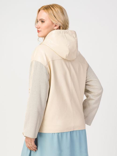 Кожаная куртка артикул 01108121/50 - фото 3