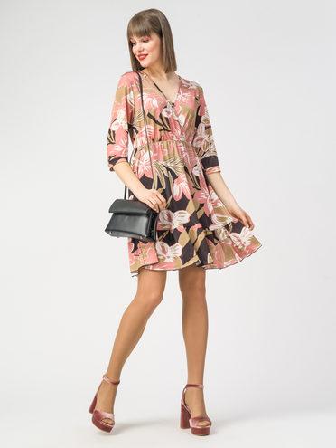 Платье 100% полиэстер, цвет бежевый, арт. 01108351  - цена 1190 руб.  - магазин TOTOGROUP