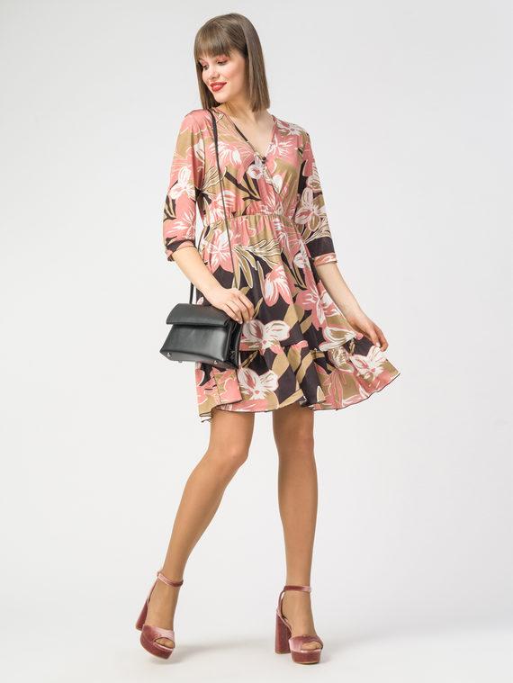 Платье 100% полиэстер, цвет бежевый, арт. 01108351  - цена 3590 руб.  - магазин TOTOGROUP