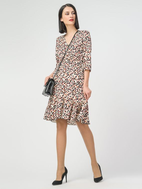 Платье 100% вискоза, цвет бежевый, арт. 01108352  - цена 3590 руб.  - магазин TOTOGROUP