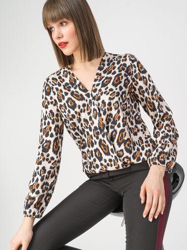 Блуза 100% вискоза, цвет бежевый, арт. 01108363  - цена 4260 руб.  - магазин TOTOGROUP