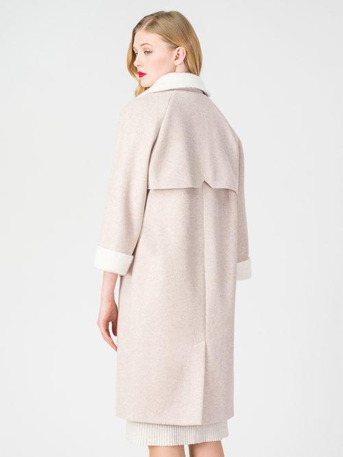 Текстильное пальто артикул 01108373/40 - фото 3