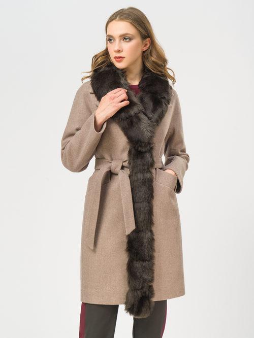 Текстильное пальто артикул 01109209/42 - фото 2