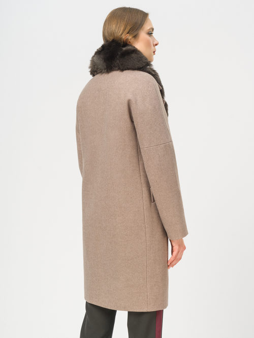 Текстильное пальто артикул 01109209/42 - фото 3