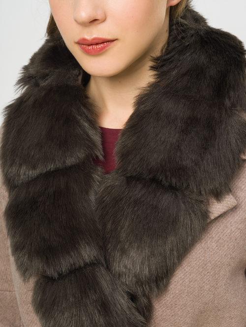Текстильное пальто артикул 01109209/42 - фото 4