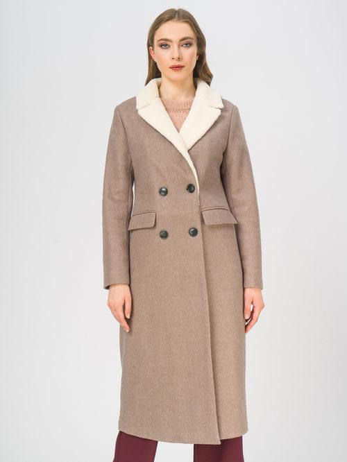 Текстильное пальто артикул 01109247/50 - фото 2