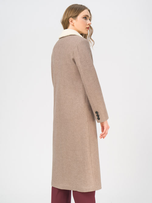 Текстильное пальто артикул 01109247/50 - фото 3