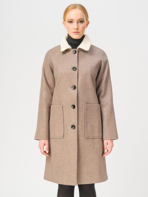 Текстильное пальто артикул 01109249/40 - фото 2