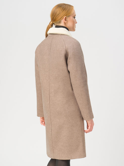 Текстильное пальто артикул 01109249/40 - фото 3