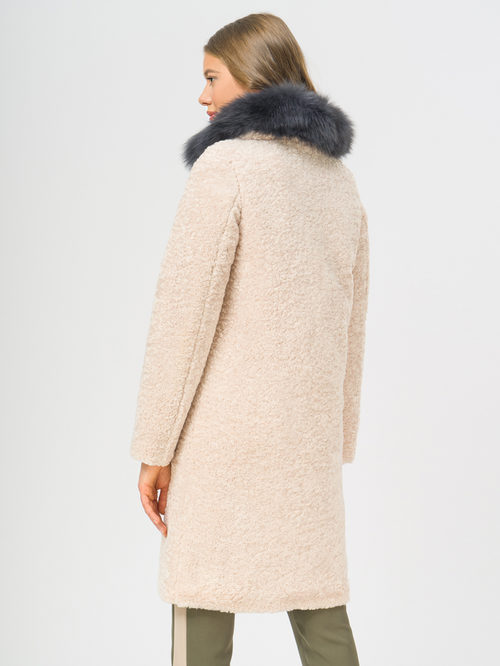Текстильное пальто артикул 01109309/42 - фото 3