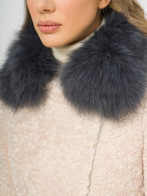 Текстильное пальто артикул 01109309/42 - фото 4
