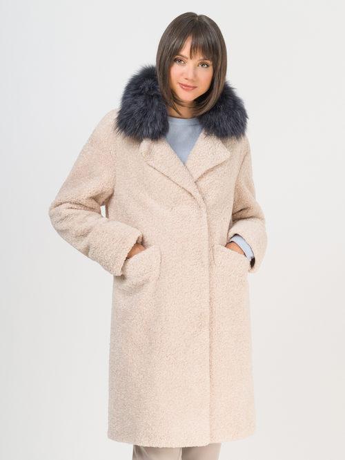 Текстильное пальто артикул 01109310/42 - фото 2
