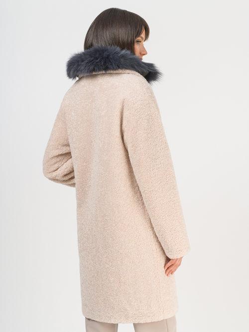 Текстильное пальто артикул 01109310/42 - фото 3