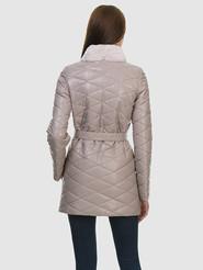 Кожаное пальто артикул 01602236/42 - фото 3