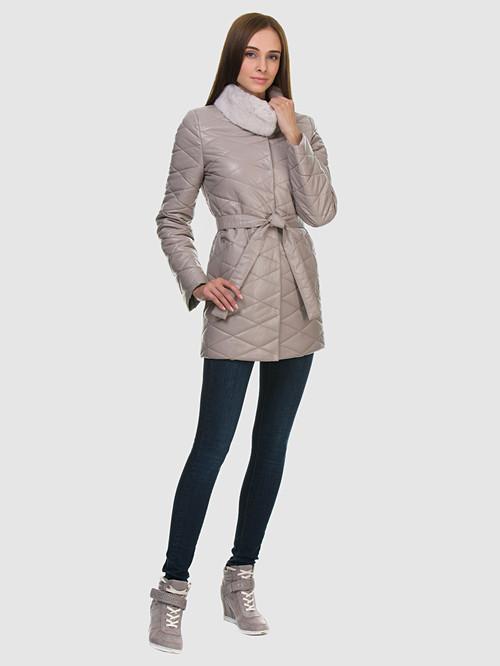 Кожаное пальто артикул 01602236/42
