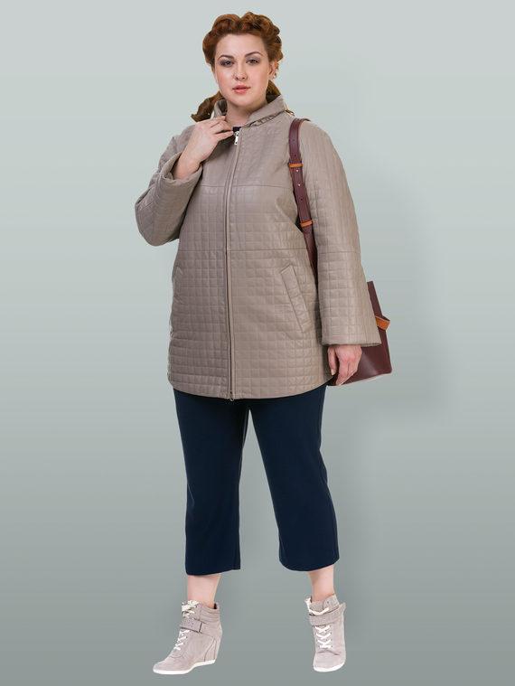 Кожаное пальто кожа , цвет бежевый, арт. 01700131  - цена 9490 руб.  - магазин TOTOGROUP