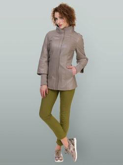 Кожаная куртка кожа овца, цвет бежевый, арт. 01700134  - цена 14190 руб.  - магазин TOTOGROUP