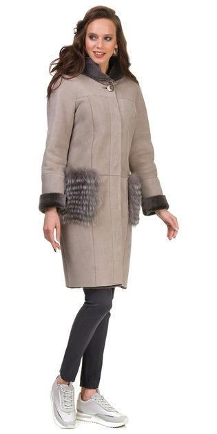 Дубленка дуб. овчина, цвет бежевый, арт. 01700611  - цена 26990 руб.  - магазин TOTOGROUP