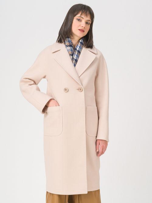 Текстильное пальто артикул 01711410/44 - фото 3
