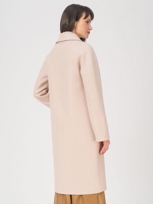 Текстильное пальто артикул 01711410/44 - фото 4